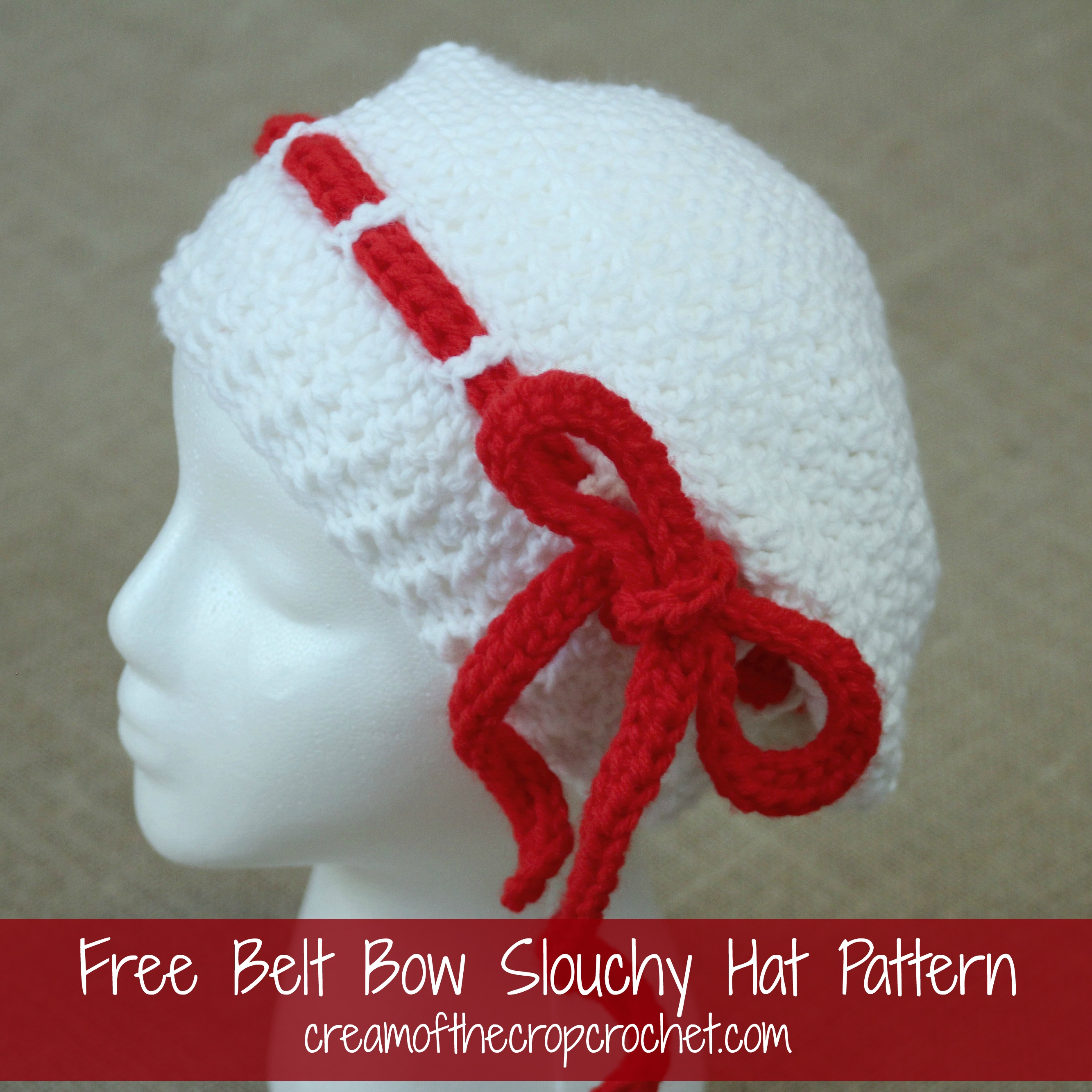 Mirabella Slouch Hat Crochet Pattern