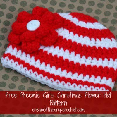 Preemie Newborn Amanda Hat Crochet Pattern
