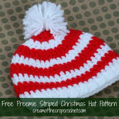 Preemie Newborn Landon Hat Crochet Pattern