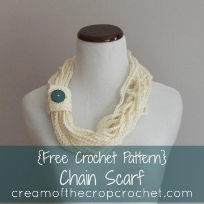 Chain Scarf Crochet Pattern
