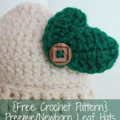 Preemie Newborn Fall Hat Crochet Pattern