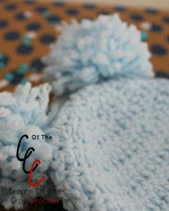 Cream Of The Crop Crochet ~ Preemie/Newborn Double Pom Pom Hats {Free Crochet Pattern}
