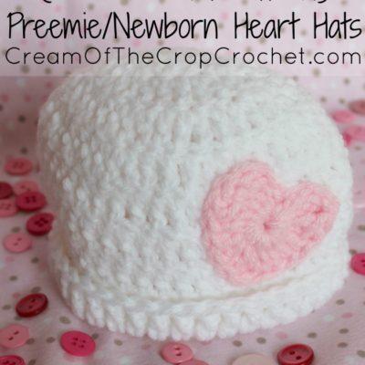 Preemie Newborn Kaylee Hat Crochet Pattern