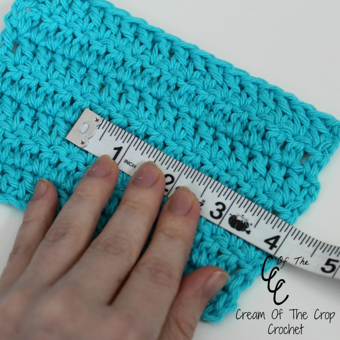 Cream Of The Crop Crochet ~ How to read and make a gauge {Crochet Tutorial}