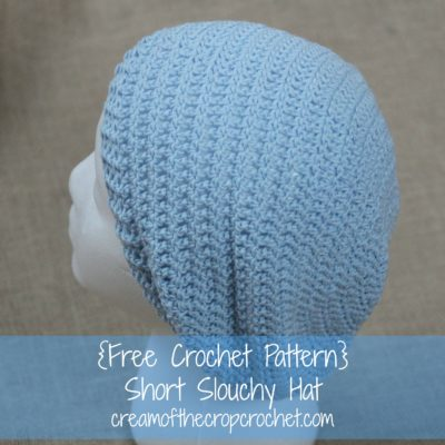Mercedes Slouch Hat Crochet Pattern