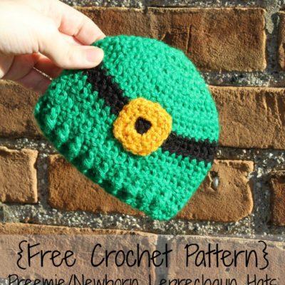 Preemie Newborn Leprechaun Hat Crochet Pattern