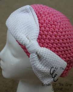 Cream Of The Crop Crochet ~ Big Bow {Free Crochet Pattern}