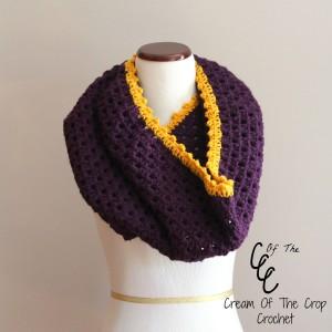 Cream Of The Crop Crochet ~ Granny Stitch Cowl {Free Crochet Pattern}
