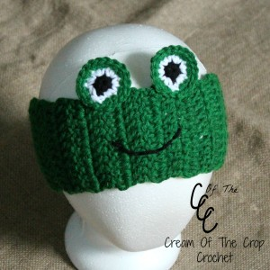 Cream Of The Crop Crochet ~ Frog Ear Warmers {Free Crochet Pattern}
