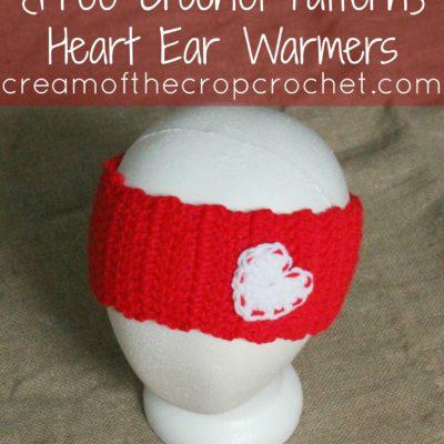 Trisha Ear Warmers Crochet Pattern
