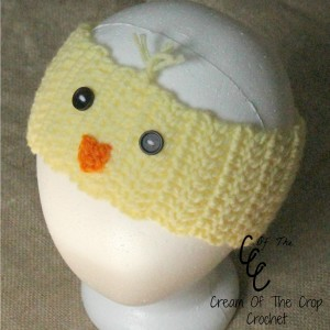 Cream Of The Crop Crochet ~ Chick Ear Warmers {Free Crochet Pattern}