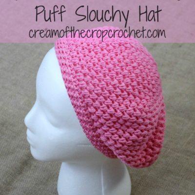 Marcy Slouch Hat Crochet Pattern
