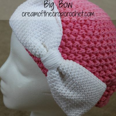 Big Bow Crochet Pattern