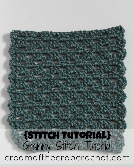 Cream Of The Crop Crochet ~ Granny Stitch {Photo Tutorial}