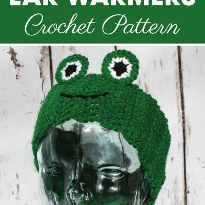 Frog Ear Warmers Crochet Pattern