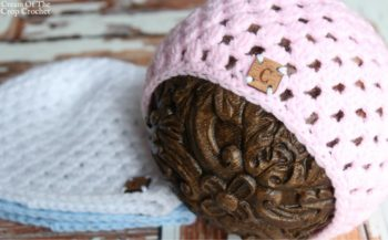 Cluster Newborn Hat Crochet Pattern | Cream Of The Crop Crochet