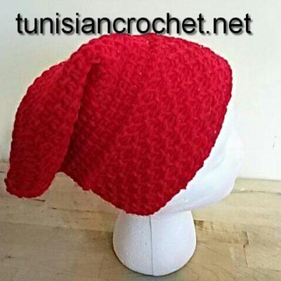Hého-Voyageur Inspired Slouchy Beanie Crochet Pattern