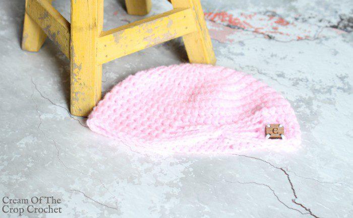 Butterfly Newborn Hat Crochet Pattern | Cream Of The Crop Crochet