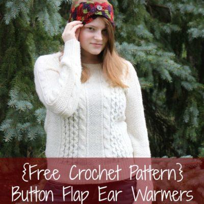 Miah Ear Warmers Crochet Pattern