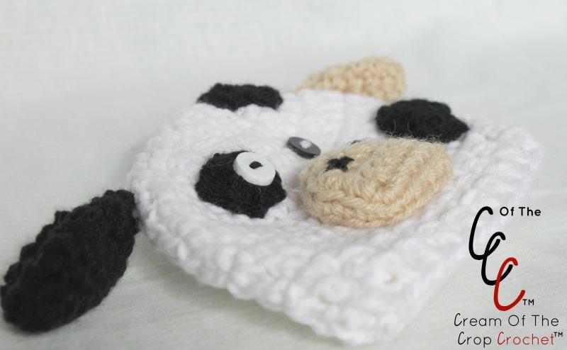 Preemie Newborn Cow Hat Crochet Pattern Cream Of The Crop Crochet