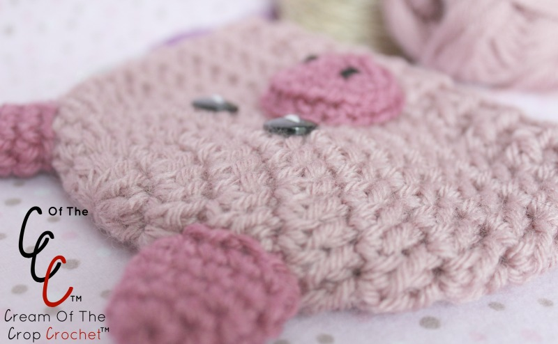 Free Crochet Pig Hat Pattern Images - knitting patterns free download