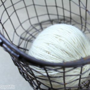 Yarn Weight and Crochet Hook Size Chart | Cream Of The Crop Crochet