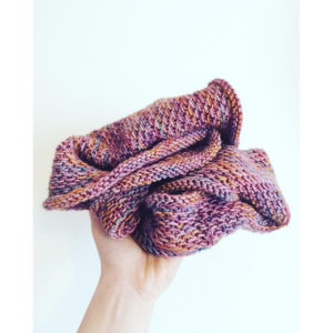Honey Cowl~Screen to Stitch