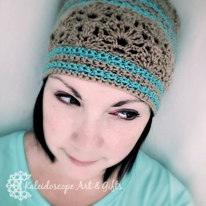 Lovely Lily Slouch Hat~12 Months of Slouchy Hats on Cream of the Crop Crochet
