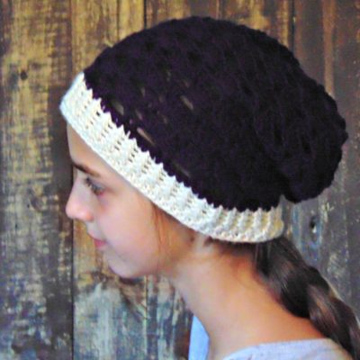 Autumn Slouch Hat Crochet Pattern