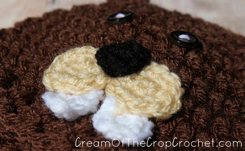 Cream Of The Crop Crochet ~ Preemie Newborn Beaver Hats  Free Crochet  Pattern  ... 18669ae589f