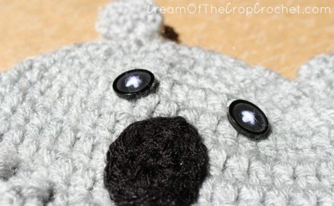 Cream Of The Crop Crochet ~ Preemie/Newborn Koala Hats {Free Crochet Pattern}