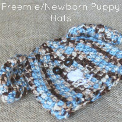 Preemie Newborn Puppy Hat Crochet Pattern