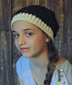 Autumn Slouch Hat - The Country Willow - 12 Months of Slouch Hats