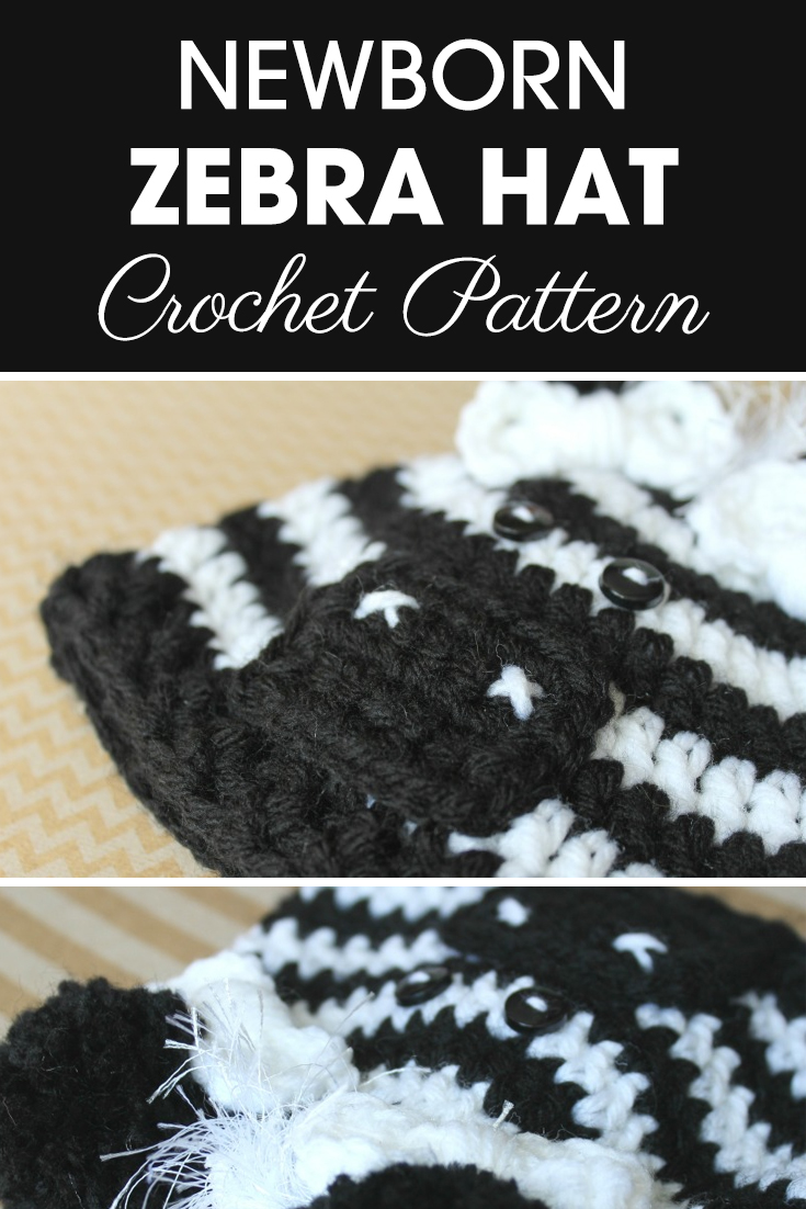 An adorable Zebra Hat for the NICU this year! #crochet #crochetlove #crochetaddict #crochetpattern #crochetinspiration #ilovecrochet #crochetgifts #crochet365 #addictedtocrochet #yarnaddict #yarnlove #crochethat