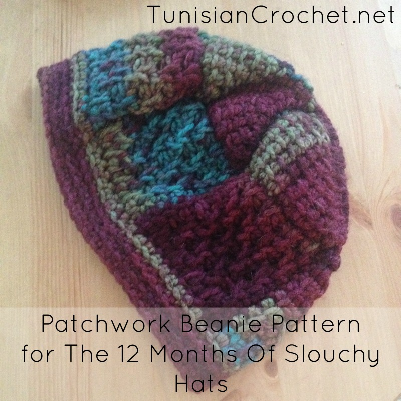 Patchwork Beanie Crochet Pattern Cream Of The Crop Crochet