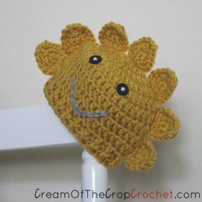 Preemie Newborn Sun Hat Crochet Pattern
