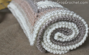 Cream Of The Crop Crochet ~ The Sand Preemie Blanket {Free Crochet Pattern}