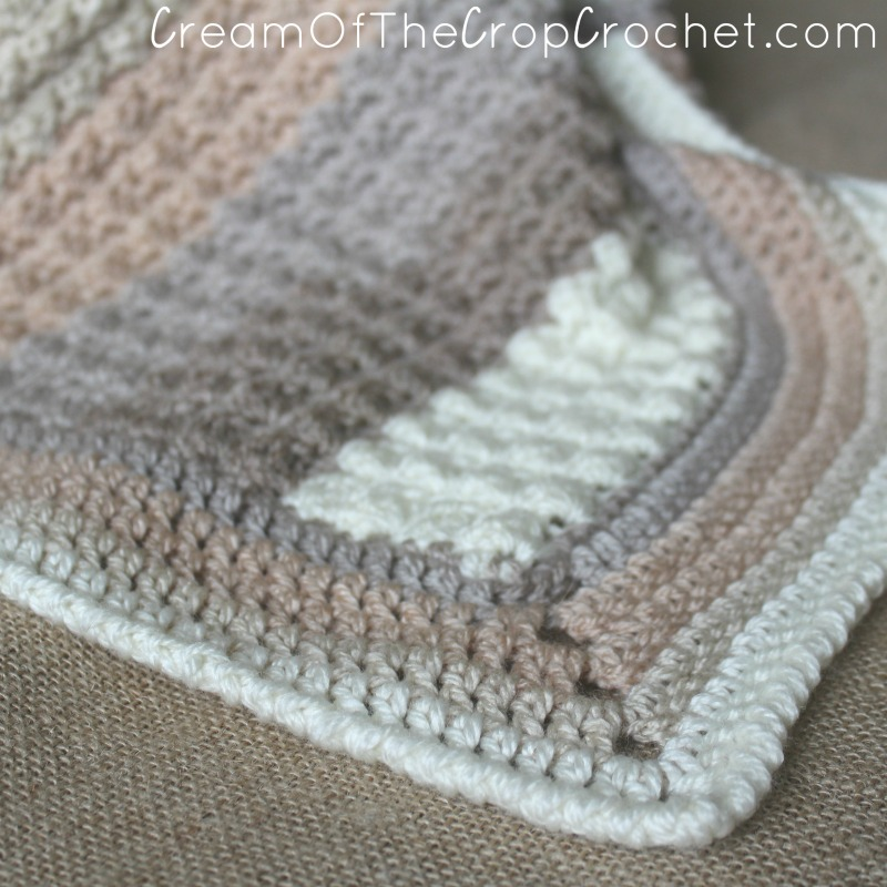 The Sand Preemie Blanket Crochet Pattern Cream Of The Crop Crochet