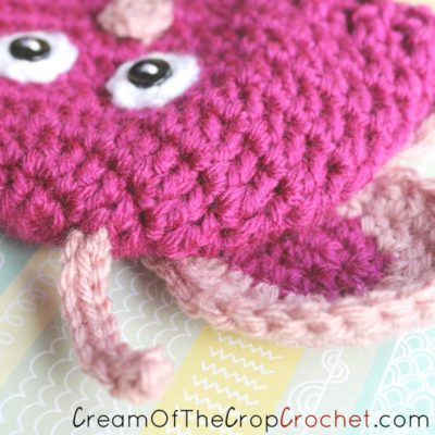 Preemie Newborn Butterfly Hat Crochet Pattern