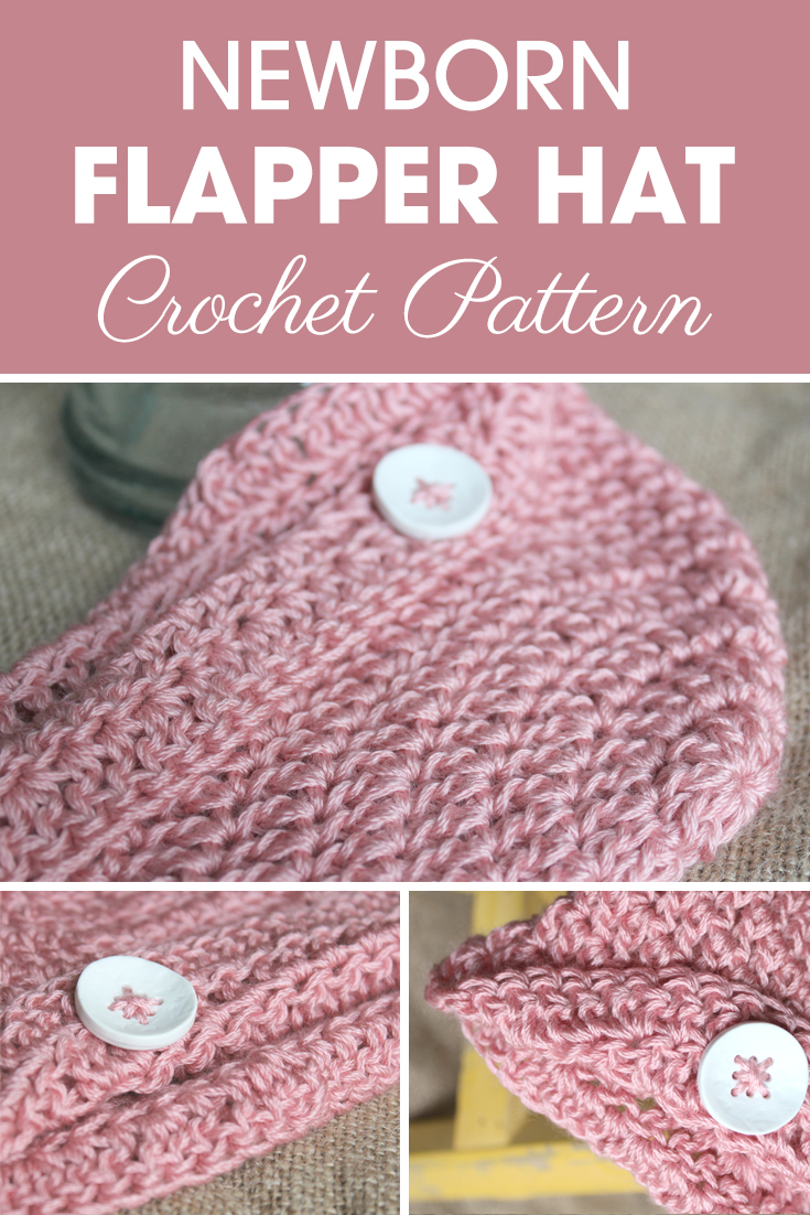 I call this hat the Newborn Flapper Hat because it reminds me of a flapper hat, although most people would probably call it a sun hat. I guess it could be either. I'll leave it up to you to decide. #crochet #crochetlove #crochetaddict #crochetpattern #crochetinspiration #ilovecrochet #crochetgifts #crochet365 #addictedtocrochet #yarnaddict #yarnlove #crochethat