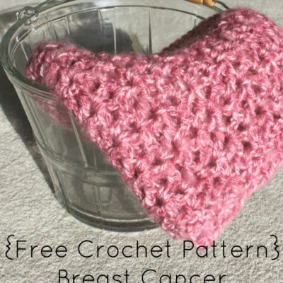 Breast Cancer Awareness Scarf Crochet Pattern