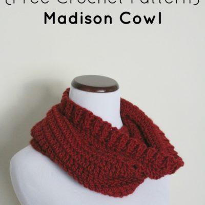 Madison Cowl Crochet Pattern