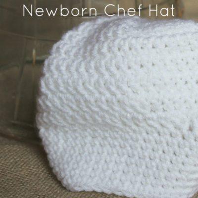 Newborn Chef Hat Crochet Pattern