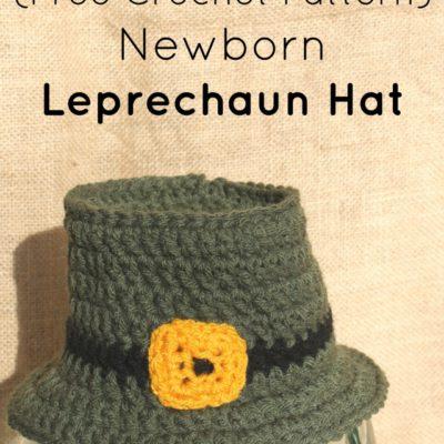 Newborn Leprechaun Hat Crochet Pattern