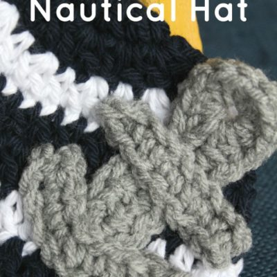 Newborn Nautical Hat Crochet Pattern