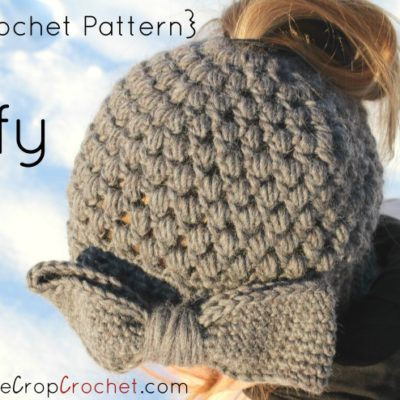 Makenzie Bun Hat Crochet Pattern