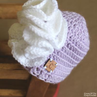 18 Inch Doll Skylar Hat Crochet Pattern