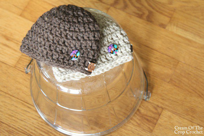 18 Inch Doll Tori Hat Crochet Pattern | Cream Of The Crop Crochet