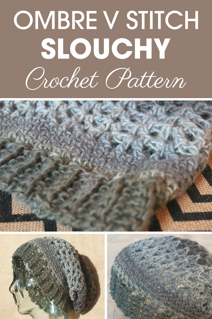 This is another one of my favorites that has been in storage for awhile. The Ombre V Stitch Slouchy is a luscious lacy hat, with great style! I hope y'all enjoy! #crochet #crochetlove #crochetaddict #crochetpattern #crochetinspiration #ilovecrochet #crochetgifts #crochet365 #addictedtocrochet #yarnaddict #yarnlove #crochethat