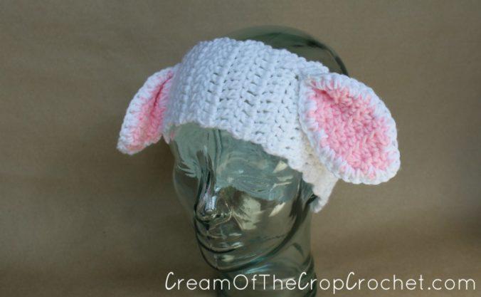 Cream Of The Crop Crochet ~ Lamb Ear Warmers {Free Crochet Pattern}